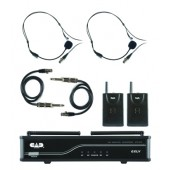 CAD GLXVBB Dual Channel Wireless Microphone